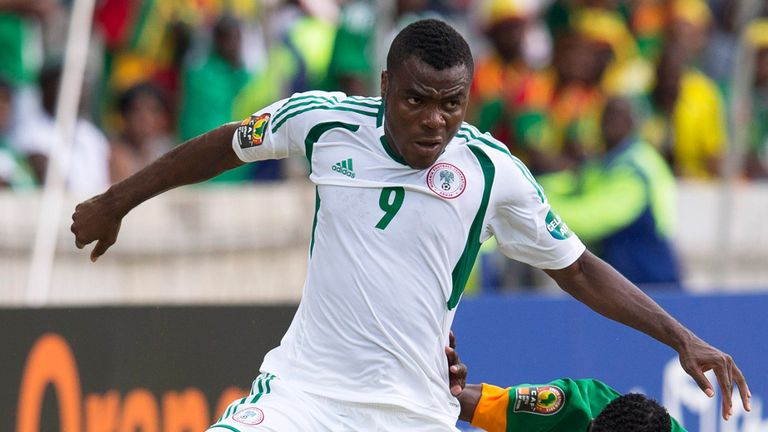 Emmanuel Emenike: Has caught the eye at the 2013 Africa Cup of Nations