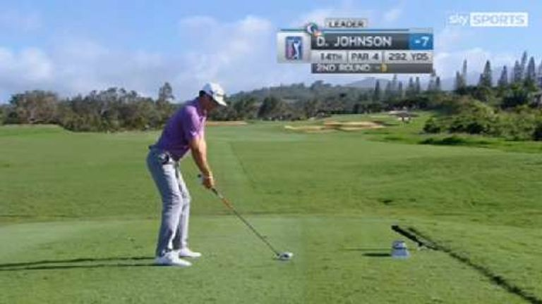 Dustin Johnson: An athletic swing to marvel at