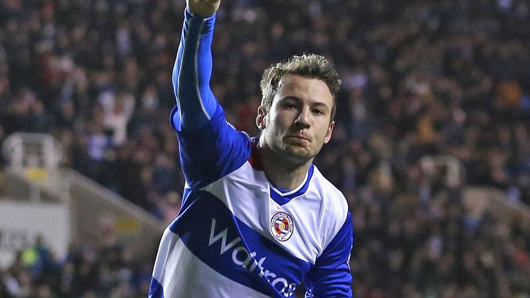 Adam Le Fondre: the striker's late double earned Reading a 2-2 draw with Chelsea on home soil