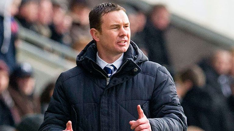 Derek Adams: Happy with his team's display