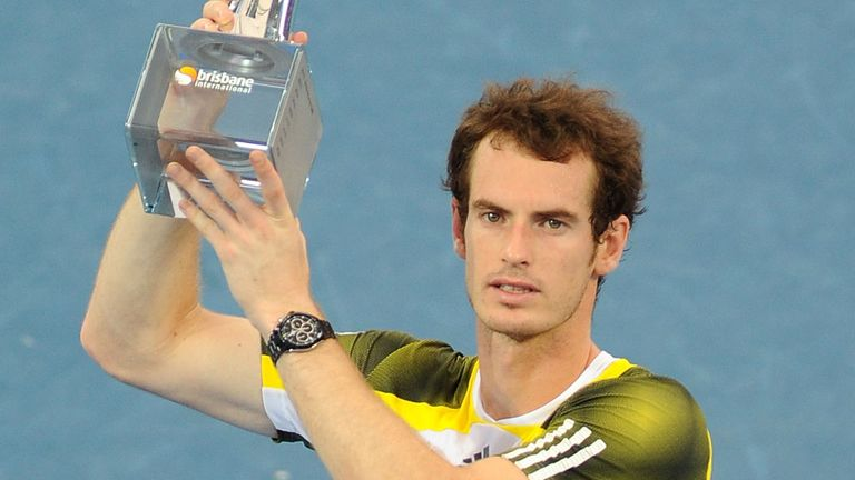 Andy Murray: Hoping for more glory this year after his success in 2012