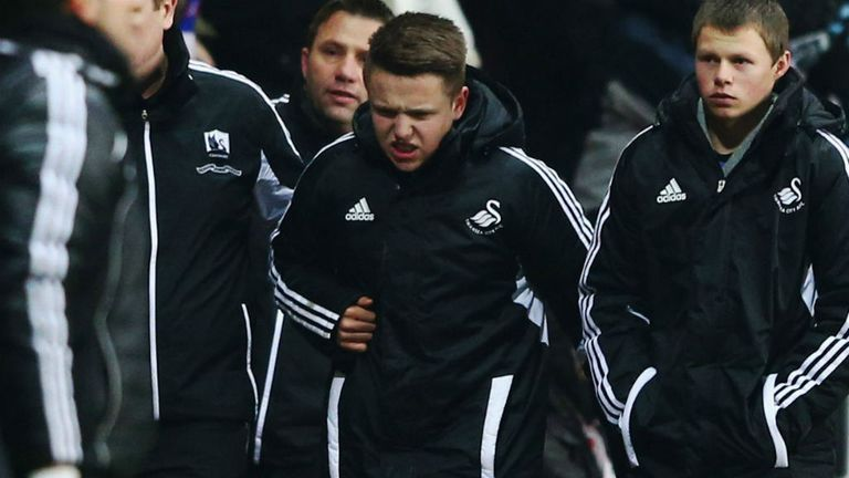 Ball-boy clashed with Eden Hazard