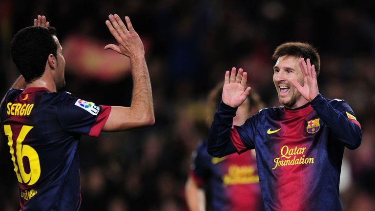 Lionel Messi: On target yet again as Barcelona beat Malaga