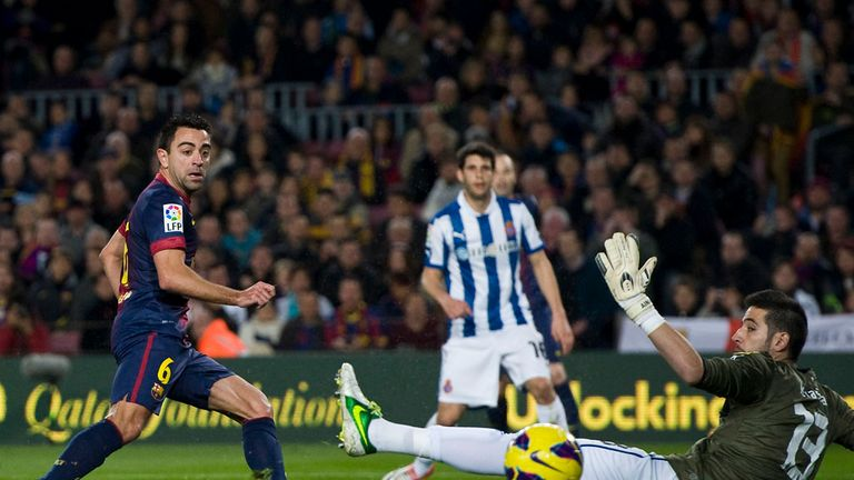 Xavi: Barca were hurting after Milan defeat