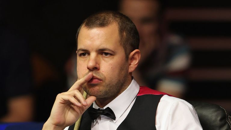Barry Hawkins: finished with a flourish to progress at Michael White's expense