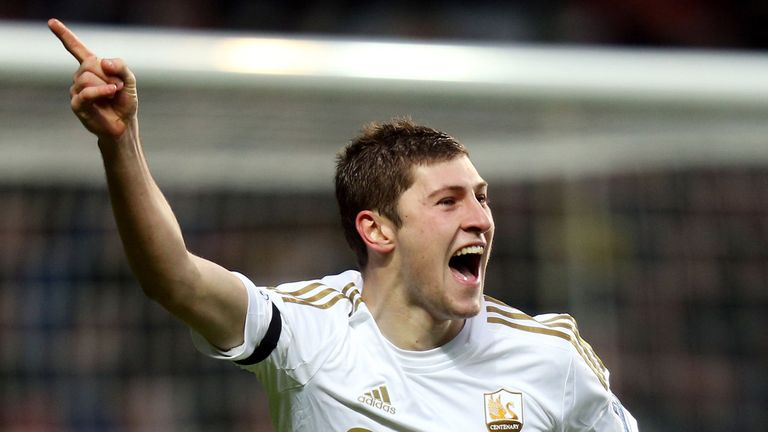 Ben Davies: Will go up against Wales team-mate Gareth Bale at the weekend