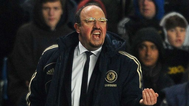 Rafael Benitez: Blames Chelsea's lack of depth for their trophy failures this season