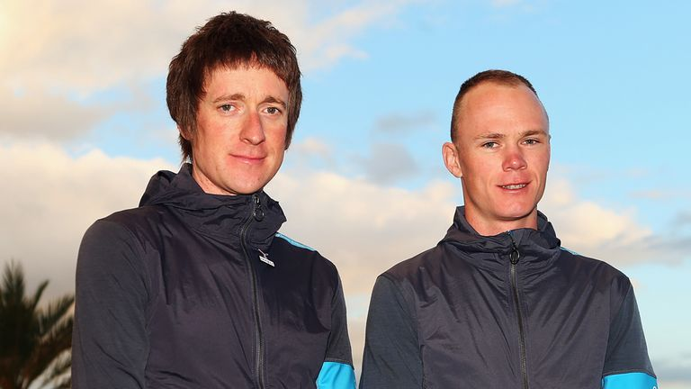 Bradley Wiggins and Chris Froome: Big plans