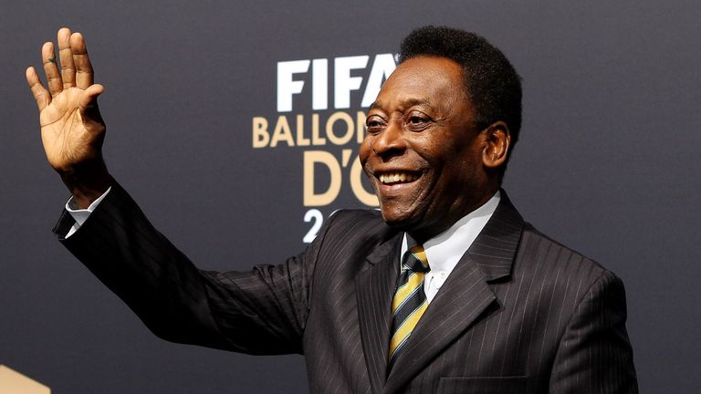 Pele: Says he is backing Brazil to impress in the friendly against England