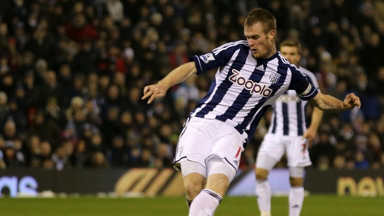 Chris Brunt: Admits that his West Brom side stepped off the gas against Norwich