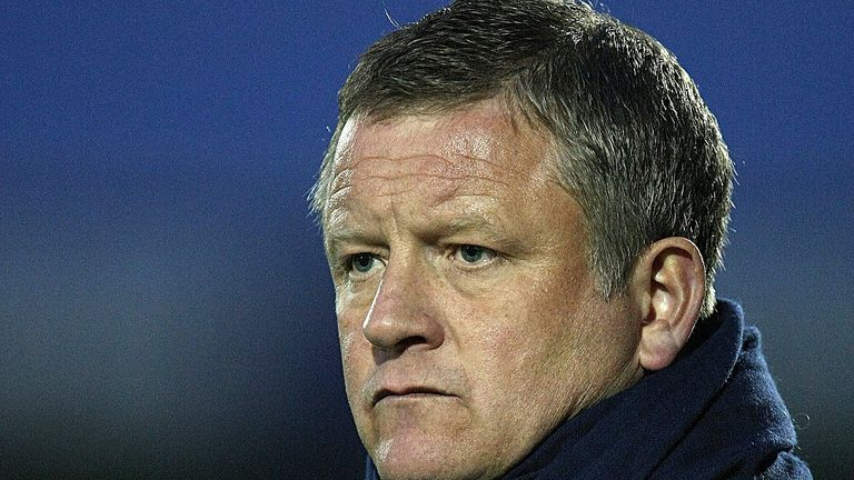 Chris Wilder: Shoulders the blame