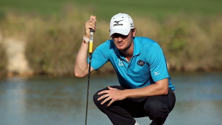 Chris Wood: Stormed clear in round three