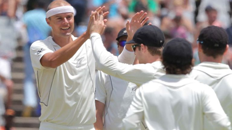Chris Martin:  A much-improved day for New Zealand