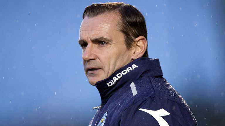 Danny Lennon: St Mirren boss running rule over striker Patryk Mikita