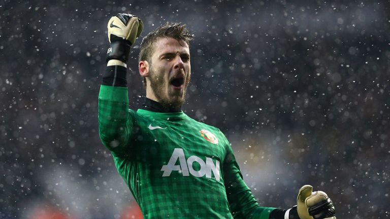 David de Gea: Manchester United goalkeeper regards himself as first choice