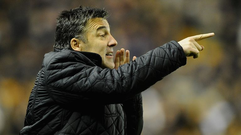 Dean Saunders' first game in charge of Wolves ended in stalemate