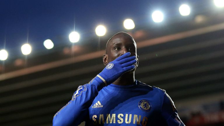 Demba Ba: Says left knee did not present an obstacle to his Chelsea move