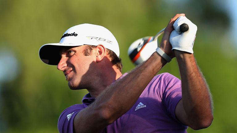 Dustin Johnson: Eagle at the last means a three-shot lead for big-hitting American