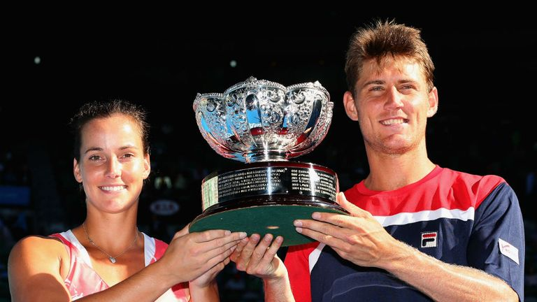 Jarmila Gajdosova & Matthew Ebden won the Australian Open mixed doubles title