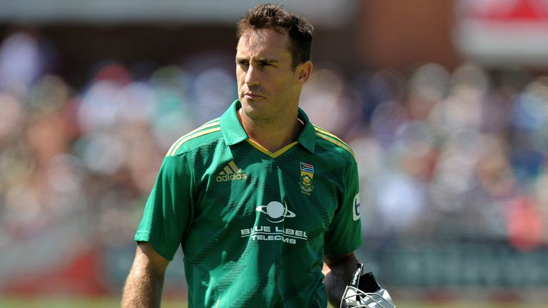 Faf du Plessis: New South Africa Twenty20 captain