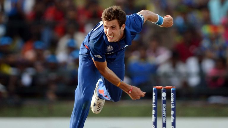 Steven Finn: Knocking over stumps in his delivery stride may soon be history