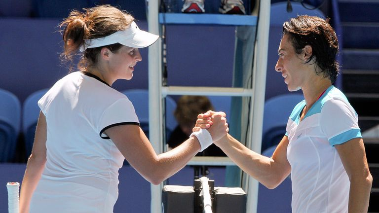 Schiavone: Eventually proved too good for Malek