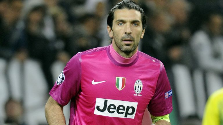 Gianluigi Buffon: Saw red early on against Lazio