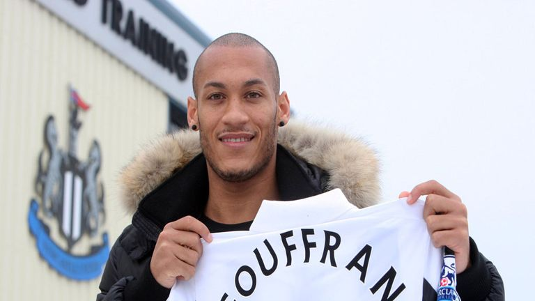 Yoan Gouffran; Confident in Newcastle's ability to pull clear of danger