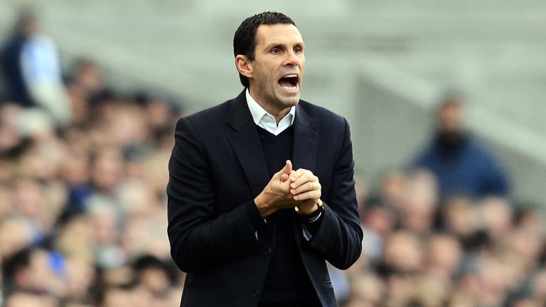 Gus Poyet: Remains calm over Ashley Barnes' red card