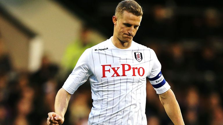 Brede Hangeland: Still to sign a new deal with Fulham