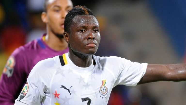 Samuel Inkoom: Not at the Africa Cup of Nations and so could move in January