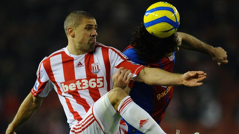 Jon Walters: Says he was confident ahead of the clash with Palace