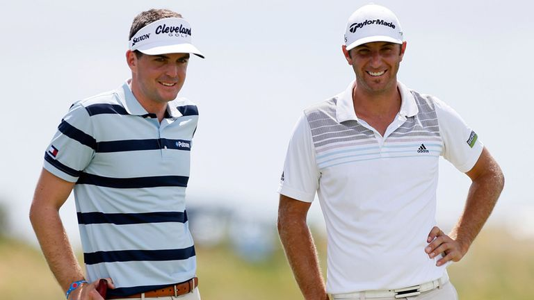 Keegan Bradley and Dustin Johnson: can rack up the cash