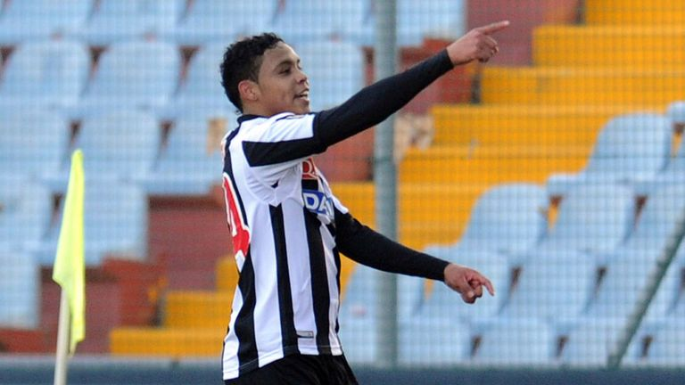Luis Muriel: Happy to stay at Udinese
