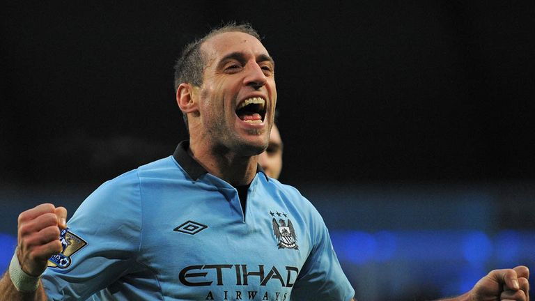 Pablo Zabaleta: Netted winner in FA Cup clash against Stoke