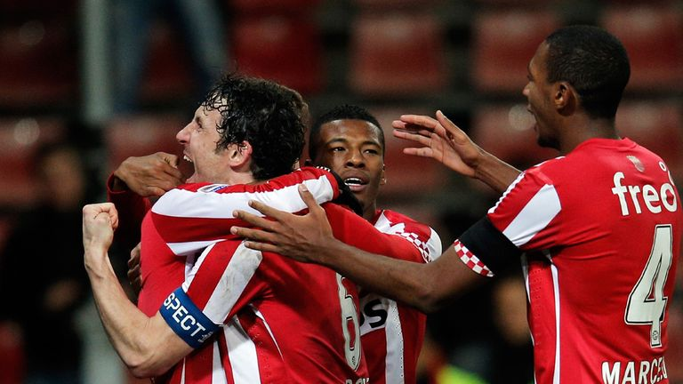 Mark van Bommel: On target as PSV beat AZ Alkmaar