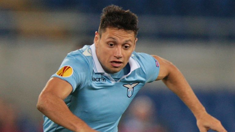 Mauro Zarate: The striker has slammed Lazio president Claudio Lotito