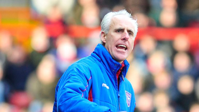 Mick McCarthy: Ipswich now four points clear of drop zone