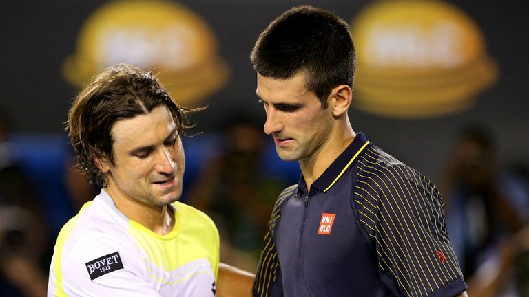 "Novak Djokovic: Described his performance against David Ferrer as ""incredible"""