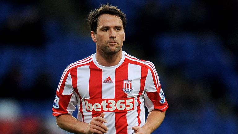 Michael Owen: Has played only a handful of games for Stoke