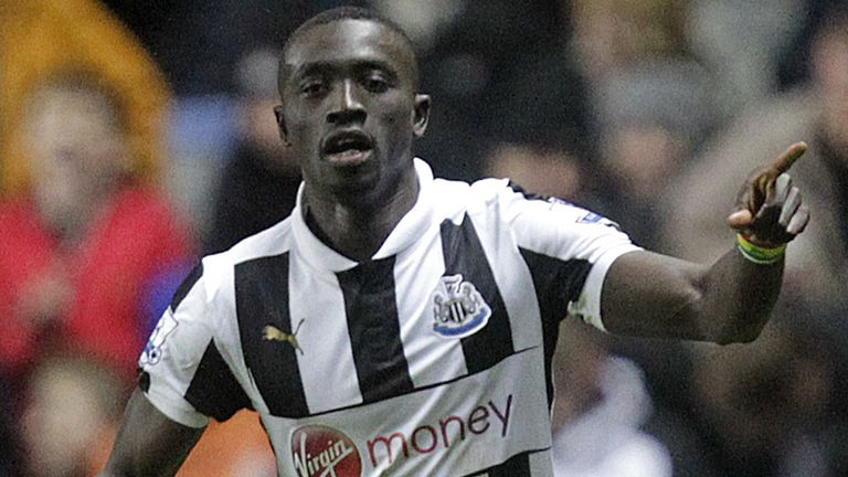 Papiss Cisse: Challenged to rediscover his best form