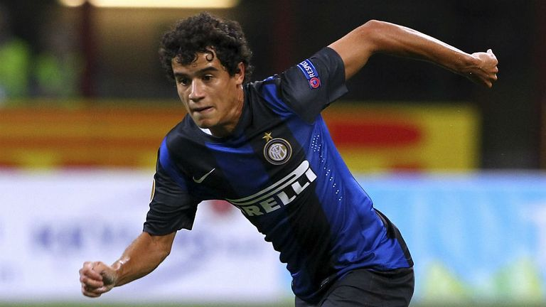 Philippe Coutinho: Aston Villa have played down talk linking them to Inter Milan winger