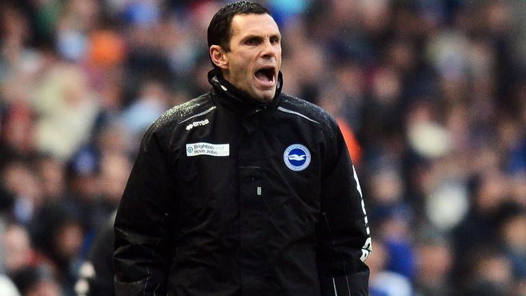 Gus Poyet: Hopeful on play-off place