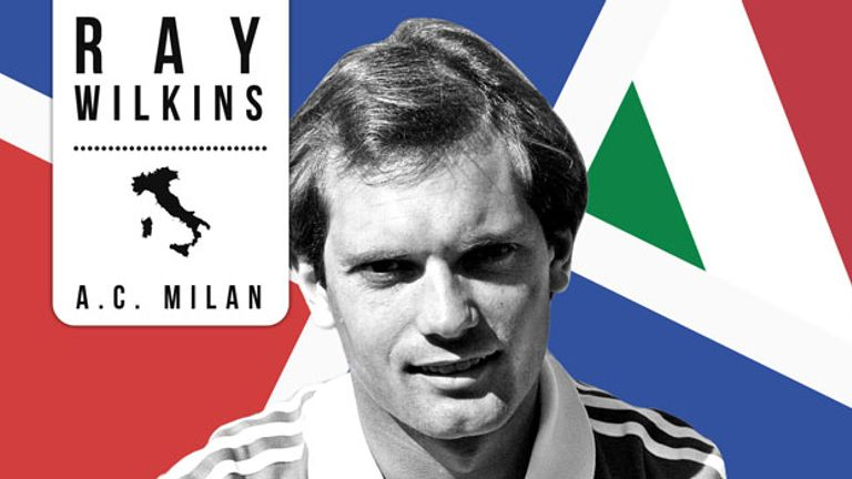 Ray Wilkins: Left Manchester United to join AC Milan in 1984