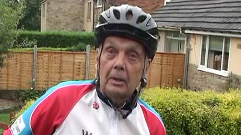 Brian Robinson: Played a key role in Welcome To Yorkshire's successful bid to bring the Tour de France to Britain