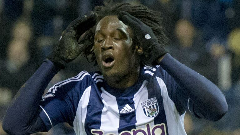 Romelu Lukaku: Scored nine goals for West Brom