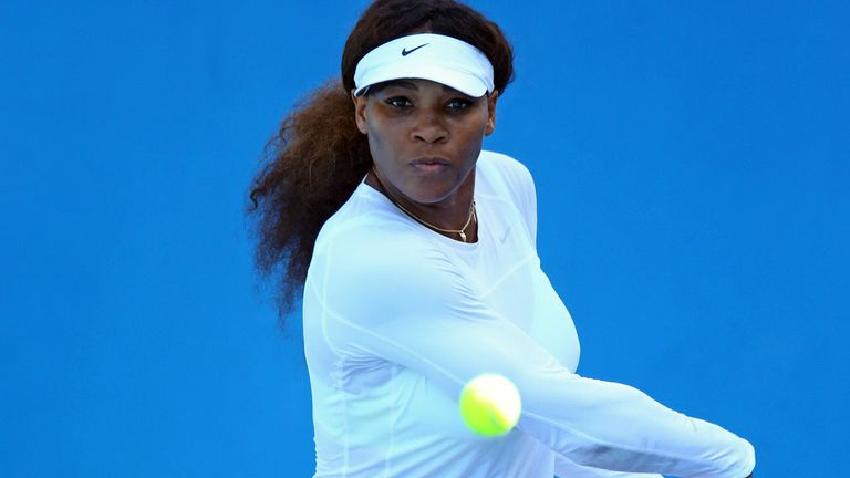 Serena Williams: Sets sights on Grand Slam in 2013