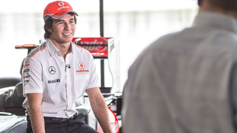 Sergio Perez: Only a few more days to wait to turn his first wheel in a McLaren