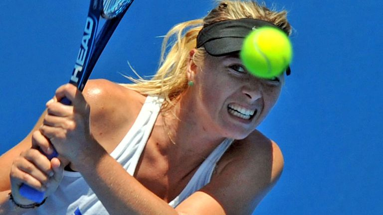 Maria Sharapova: Lack of preparation a worry