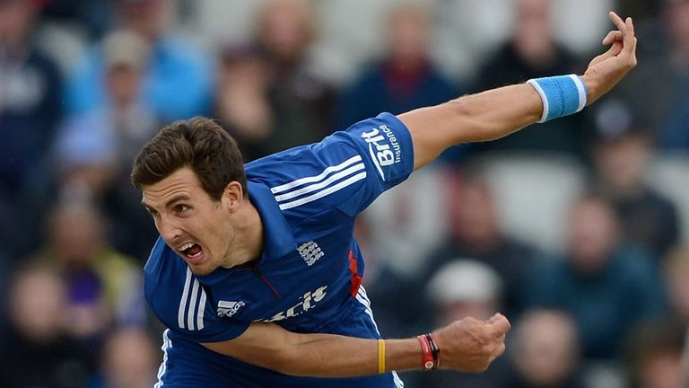 Steven Finn: Set to spearhead England attack in India